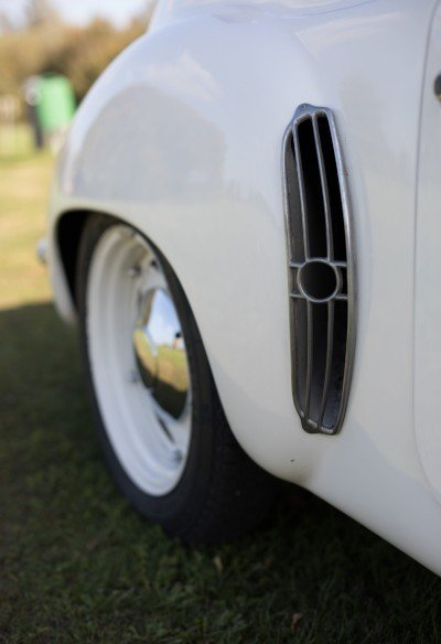 Alpine Renault A106 Mille Miles right rear wheel, Mille Miglia eligible car