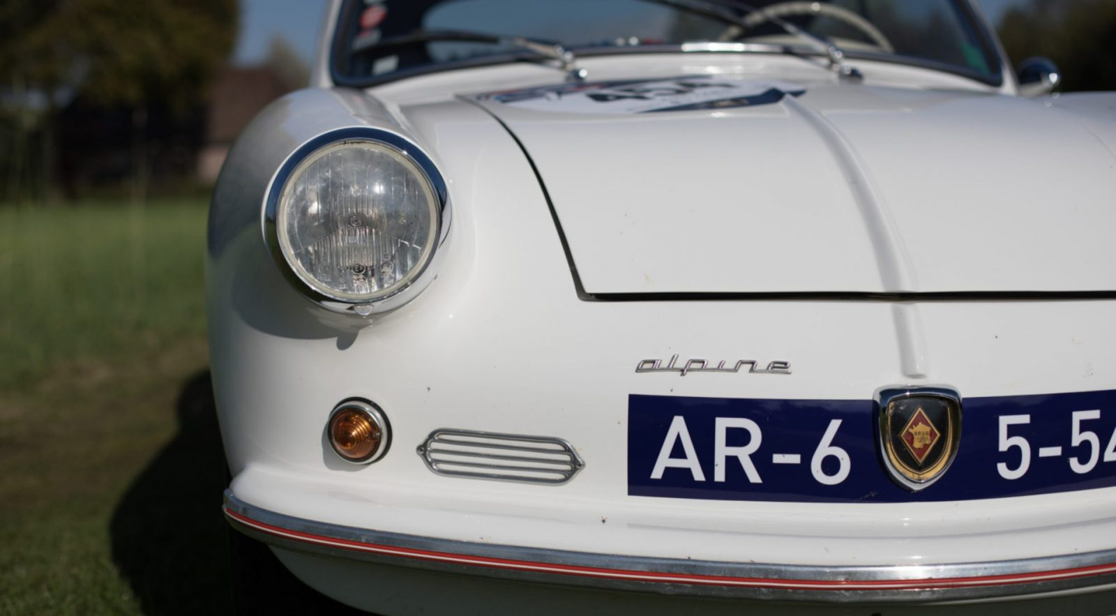 Renault A106 Mille Miles, Mille Miglia eligible car