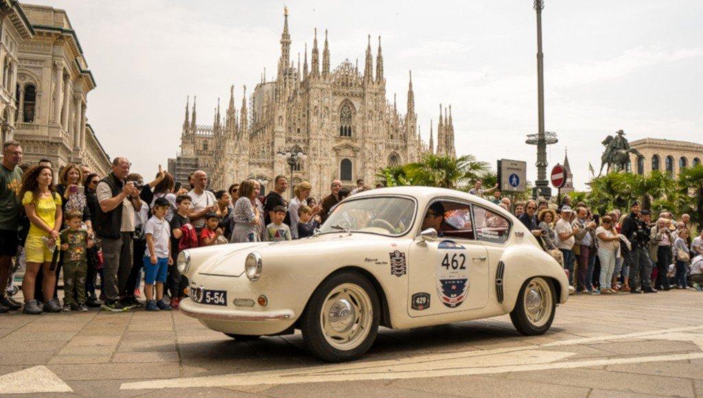Alpine Renault A106 Mille Miles, Rare Mille Miglia cars