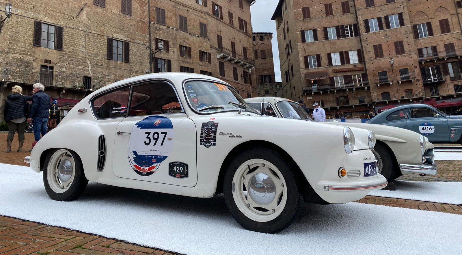 Renault alpine A106 Mille Miles (1957) at the Mille Miglia 2020
