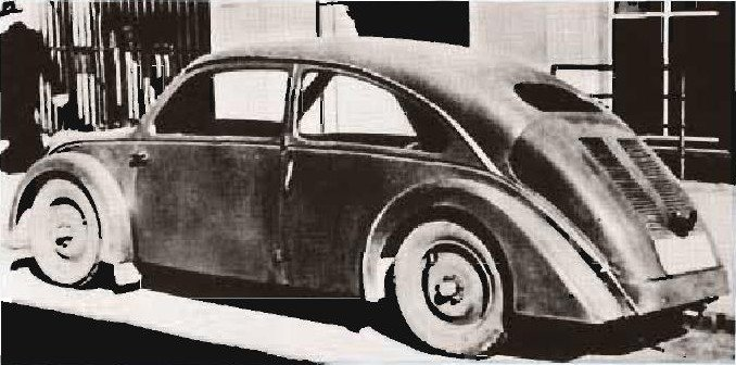 The Type 32 Porsche, done on assignment for NSU was built by Drauz. (Photo courtesy Porsche AG)