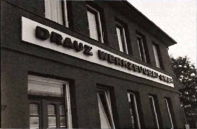 Karosserie Drauz, as it appears today in Heilbron, Germany. Part of their old facility is now used to make the 924/944.
